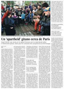 Un 'apartheid' gitano cerca de París copia