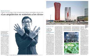 Toyo Ito. 'Los arquitectos se somenten a los ritos'