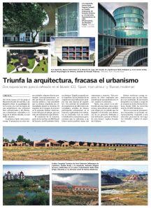 Triunfa la arquitectura, fracasa el urbanismo