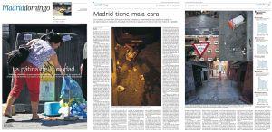 La pátina de la ciudad. Madrid tiene mala cara