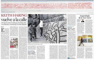 Keith Haring vuelve a la calle