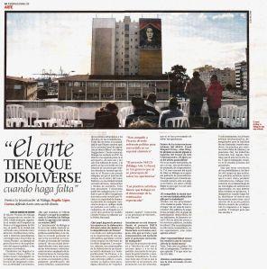 Rogelio López Cuenca. 'El arte tiene que disolverse cuando haga falta'