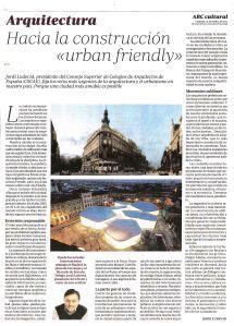 Hacia la construcción 'urban friendly'