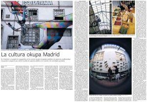 La cultura okupa Madrid