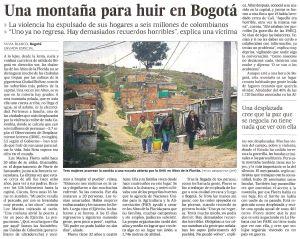 Una montaña para huir en Bogotá