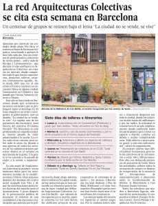 La red Arquitecturas Colectivas se cita esta semana en Barcelona copia