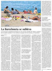 La Barceloneta se subleva