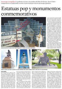 Estatuas pop y monumentos conmemorativos