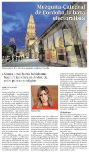 Mezquita-Catedral de Córdoba, la baza electoralista