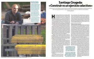 Santiago Cirugeda. 'Construir es un ejercicio colectivo'