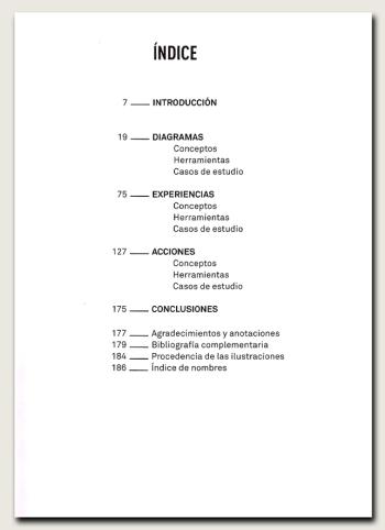 Del diagrama a las experiencias-índice