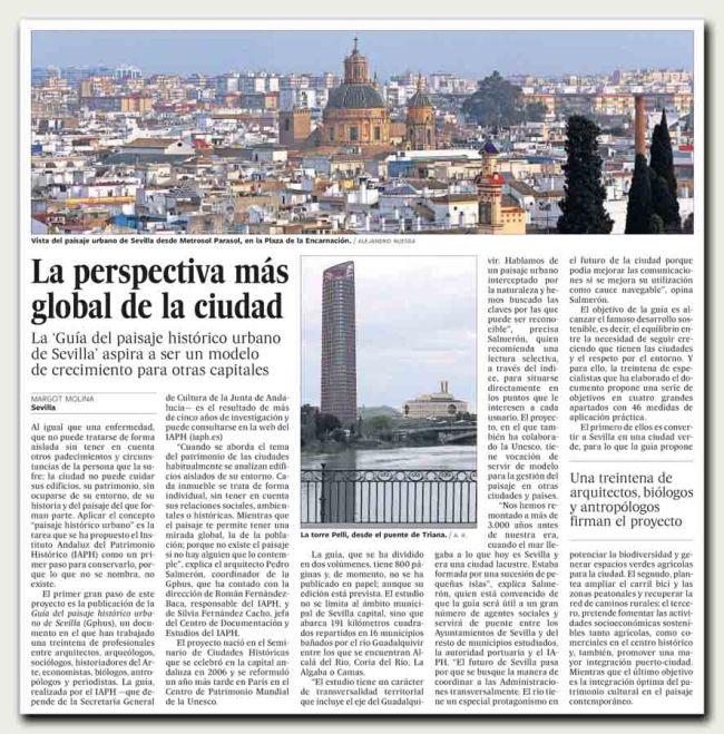 La perspectiva más global de la ciudad