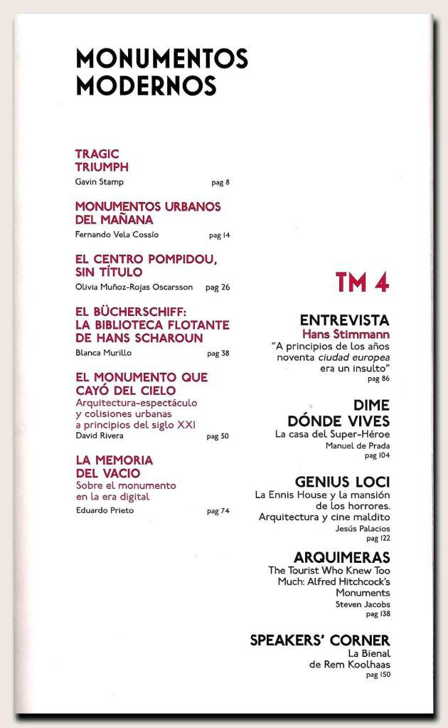 Teatro Marittimo n.4-índice