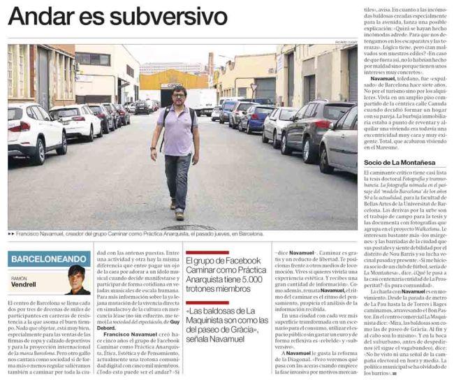 Andar es subversivo