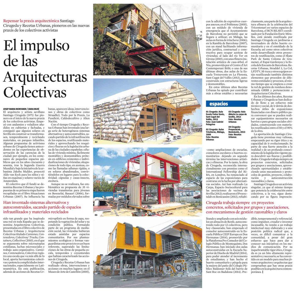 El impulso de las Arquitecturas Colectivas