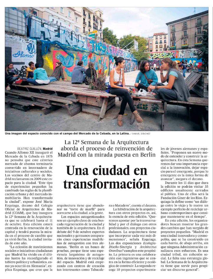 Una ciudad en transformación