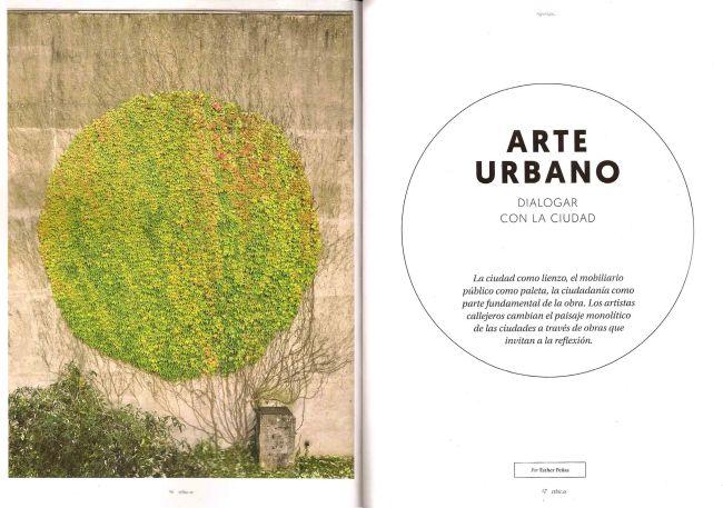 Arte urbano, dialogar con la ciudad 1