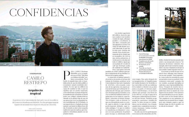 Camilo Restrepo, arquitecto tropical