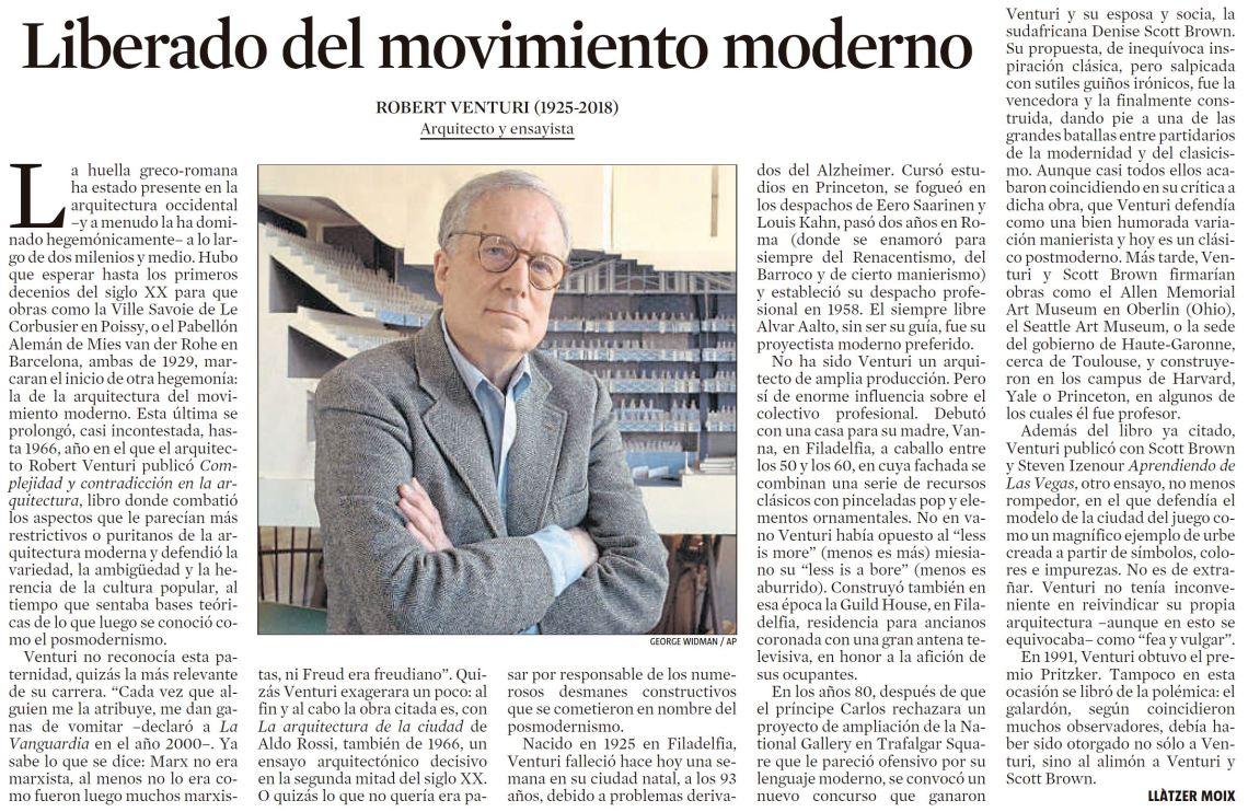 Liberado del movimiento moderno